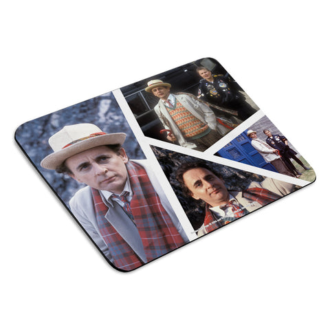 Seventh Doctor Photographic Mousemat
