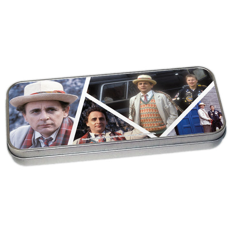 Seventh Doctor Photographic Pencil Tin