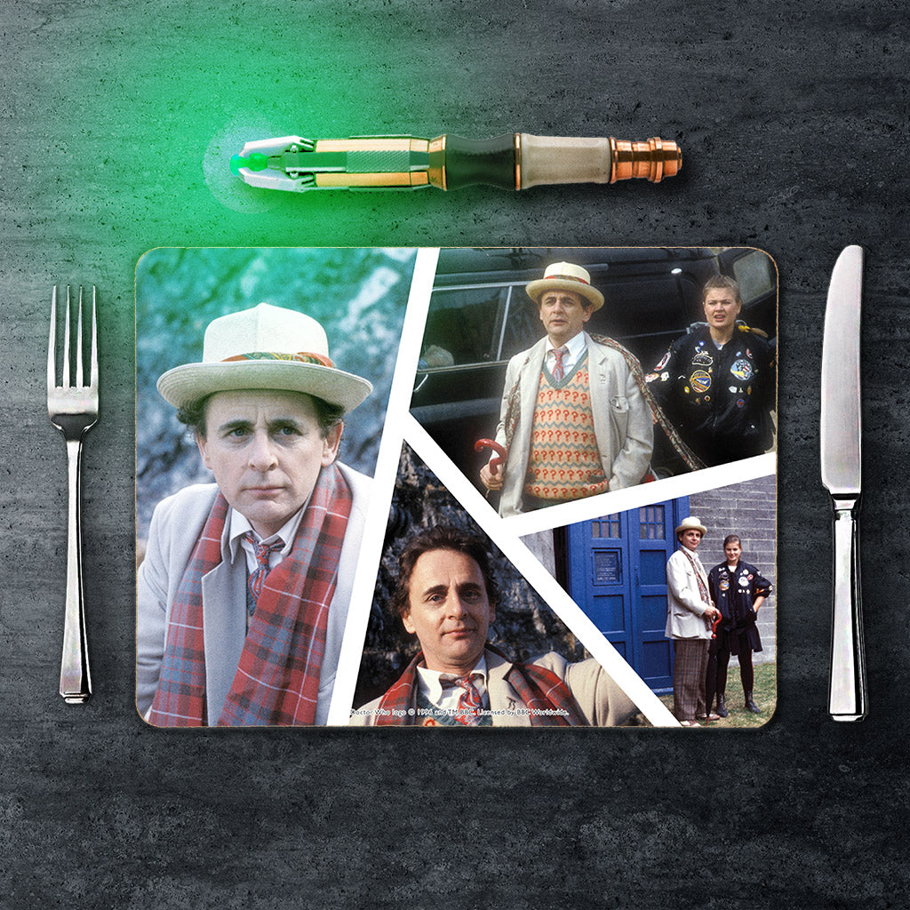Seventh Doctor Photographic Placemat (Lifestyle)