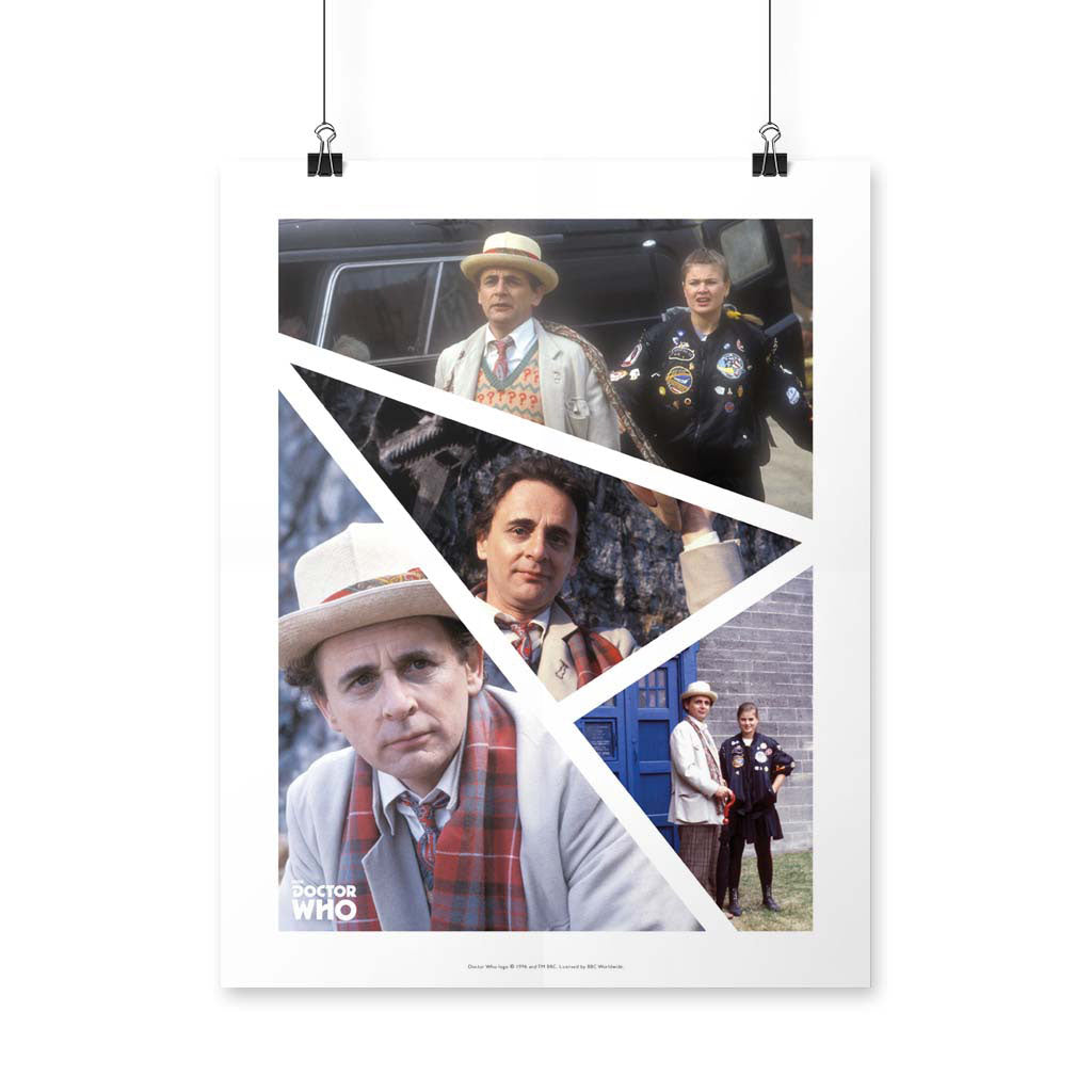 Seventh Doctor Photographic Art Print