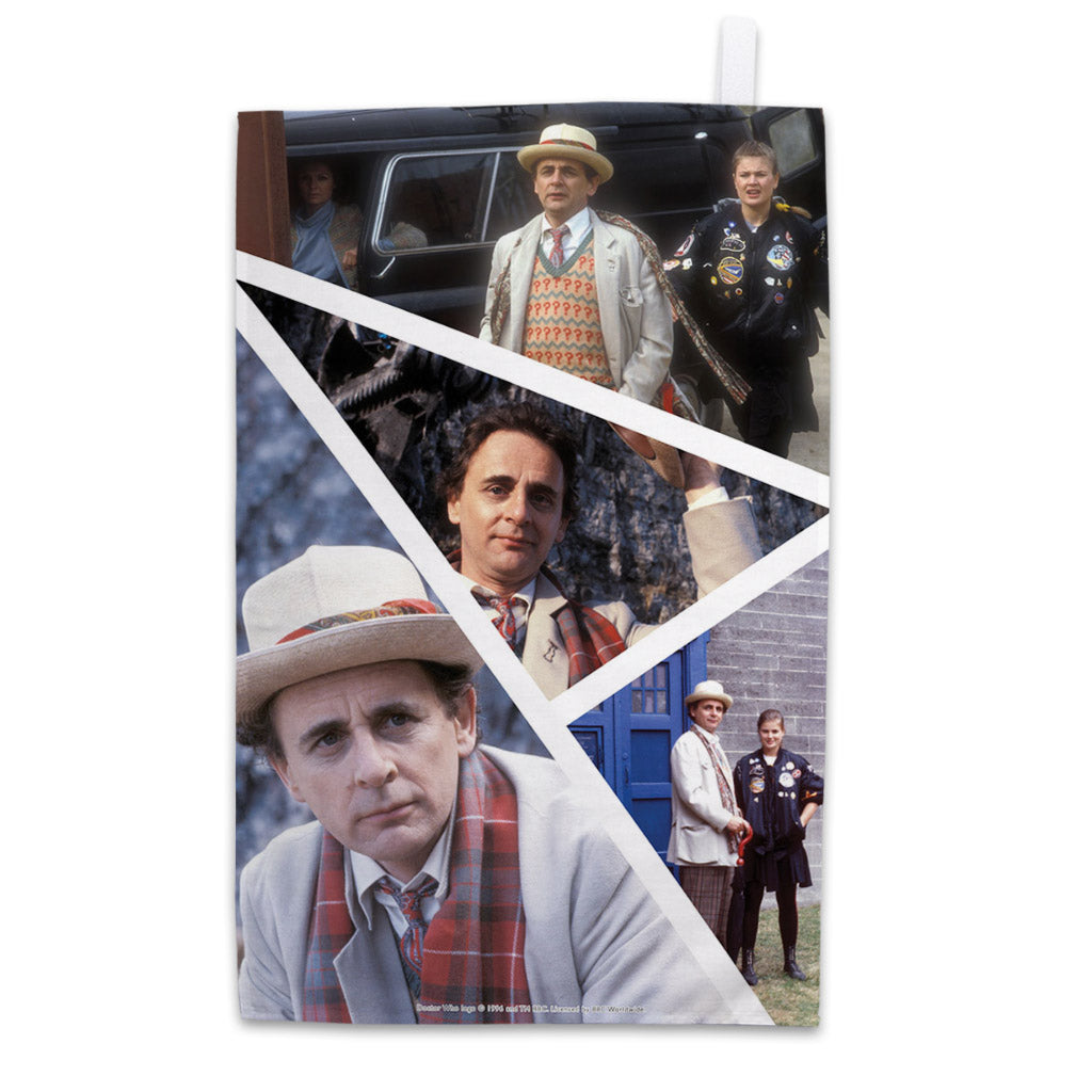 Seventh Doctor Photographic Tea Towel