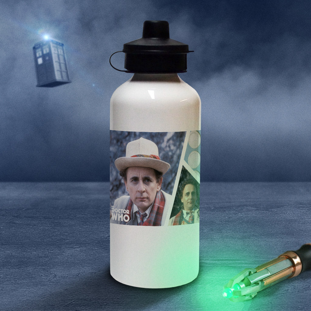 Seventh Doctor Photographic Water Bottle (Lifestyle)