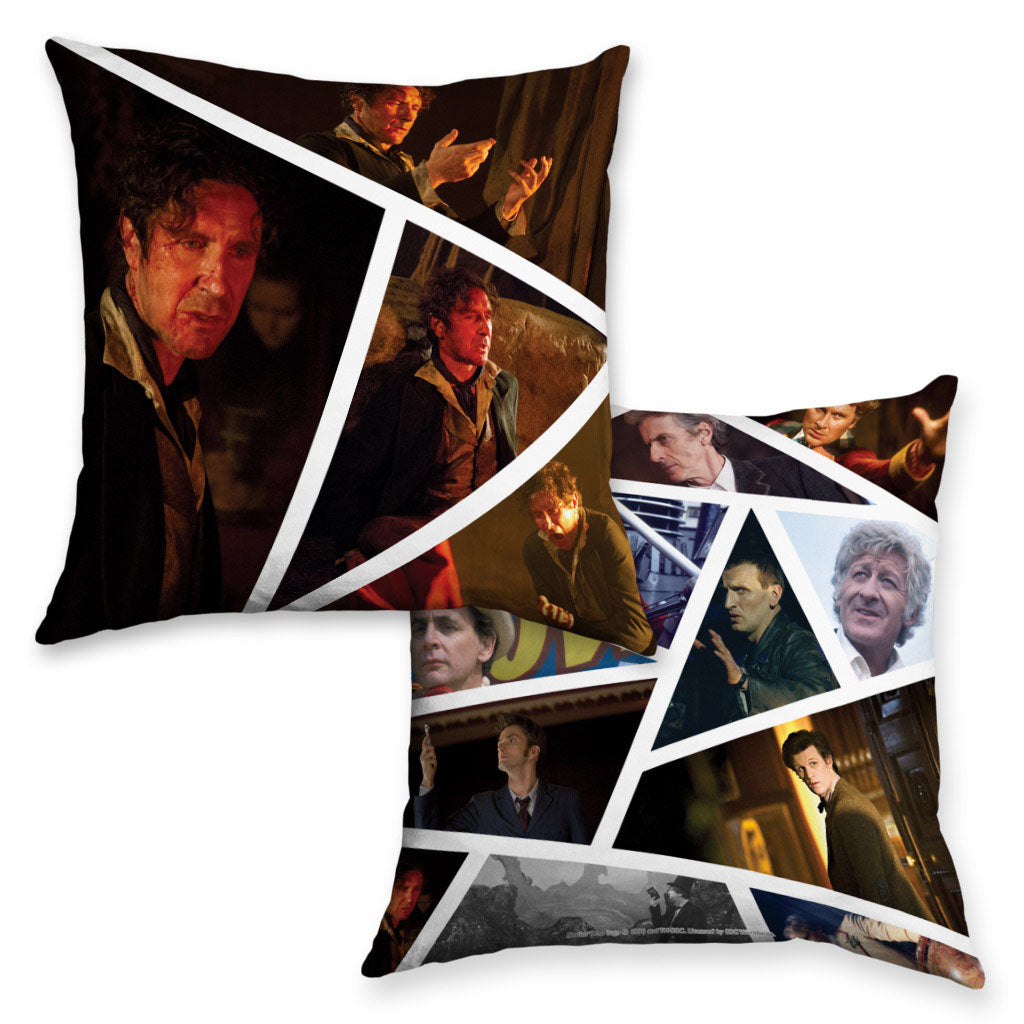 Eighth Doctor Photographic Cushion