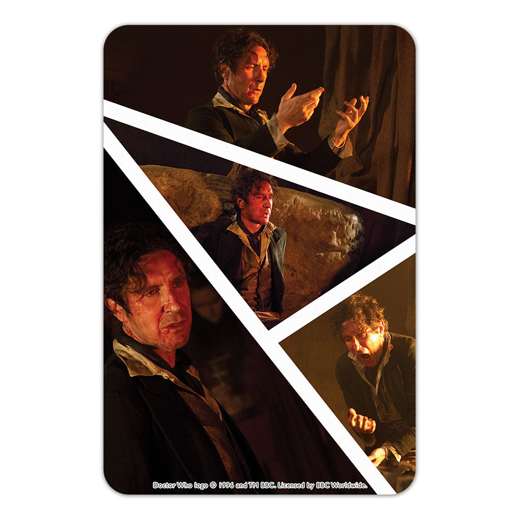 Eighth Doctor Photographic Door Plaque