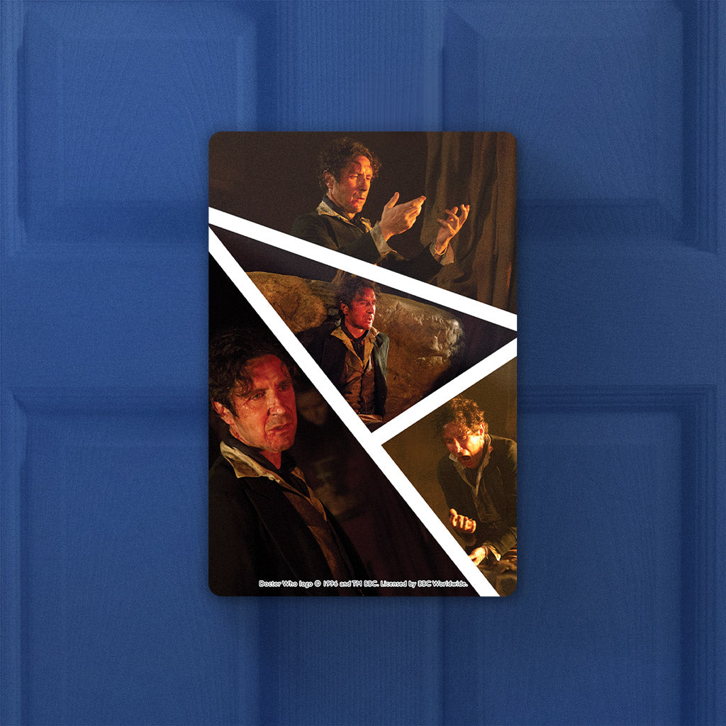Eighth Doctor Photographic Door Plaque (Lifestyle)