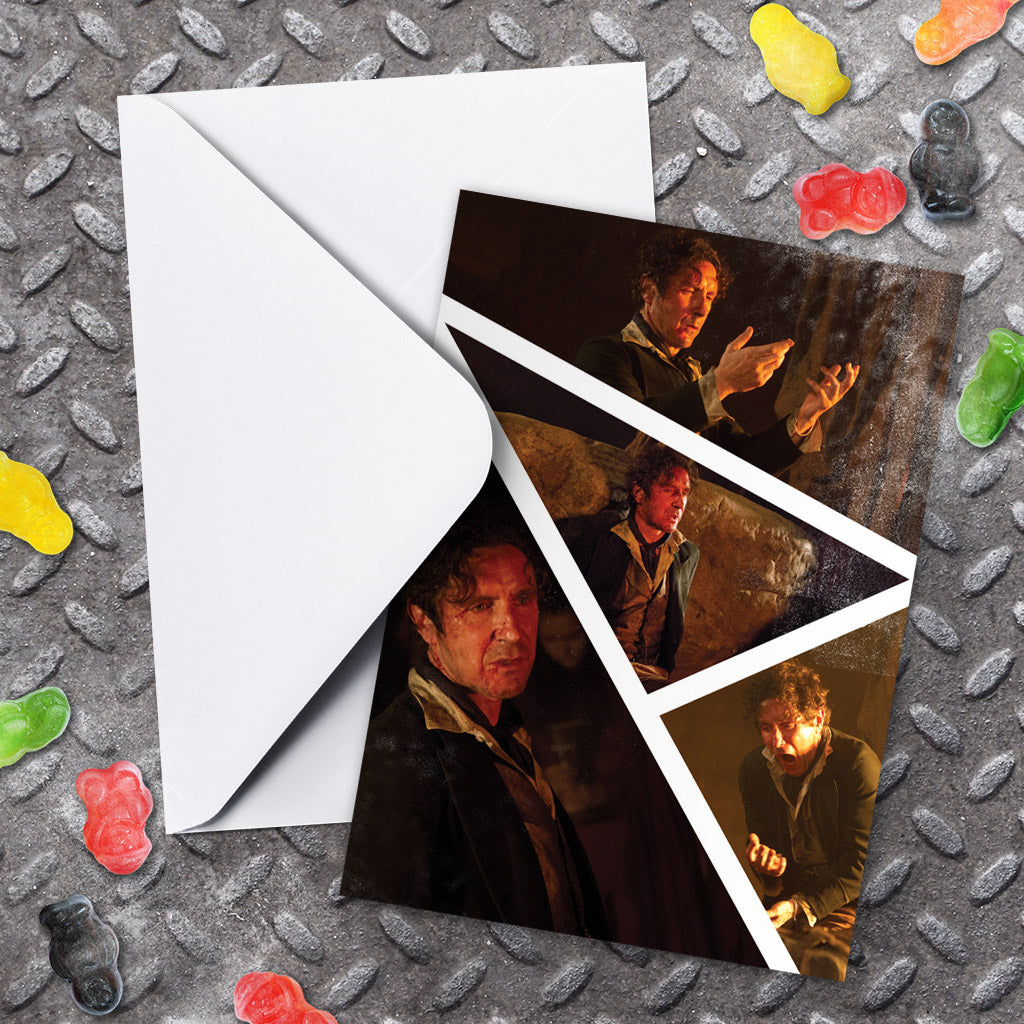 Eighth Doctor Photographic Greeting Card (Lifestyle)