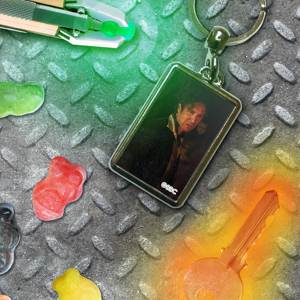 Eighth Doctor Photographic Metal Keyring (Lifestyle)