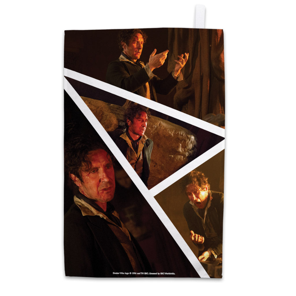 Eighth Doctor Photographic Tea Towel
