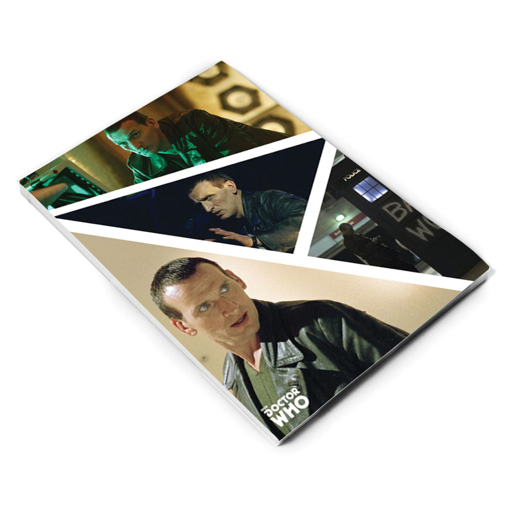 Ninth Doctor Photographic A5 Notepad