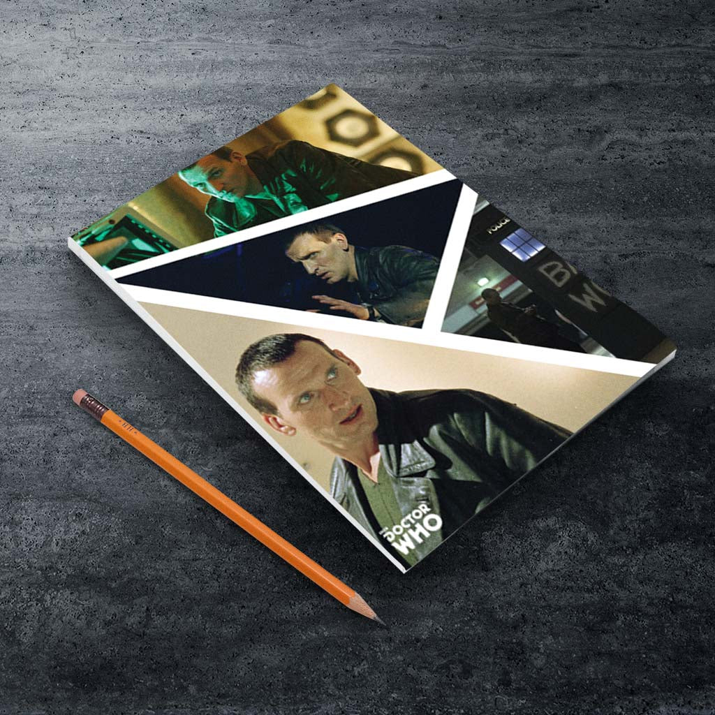 Ninth Doctor Photographic A5 Notepad (Lifestyle)