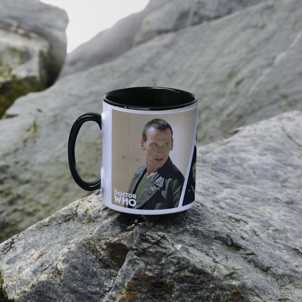 Ninth Doctor Photographic Colour Insert Mug (Lifestyle)