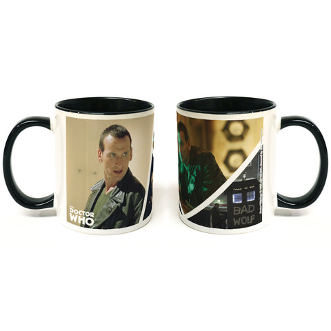 Ninth Doctor Photographic Colour Insert Mug