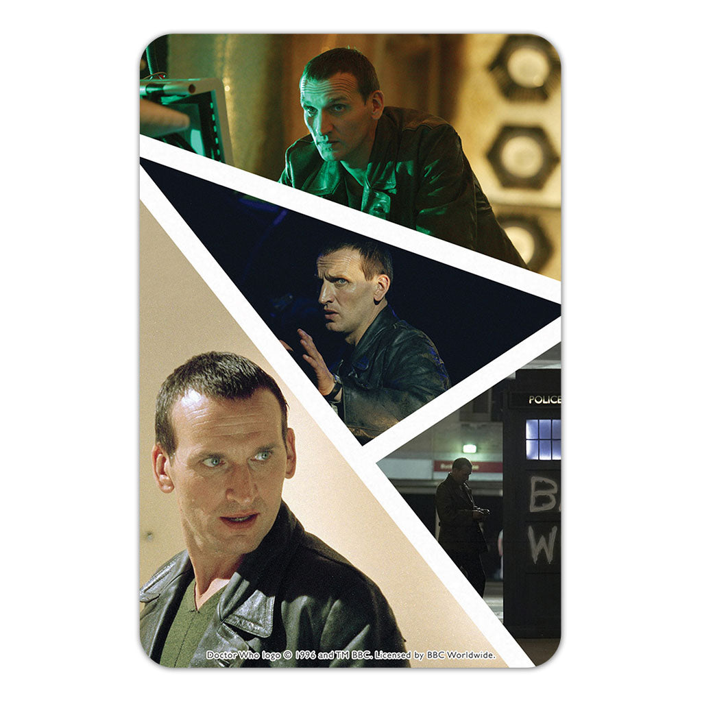 Ninth Doctor Photographic Door Plaque