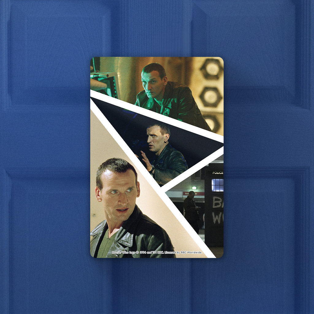 Ninth Doctor Photographic Door Plaque (Lifestyle)