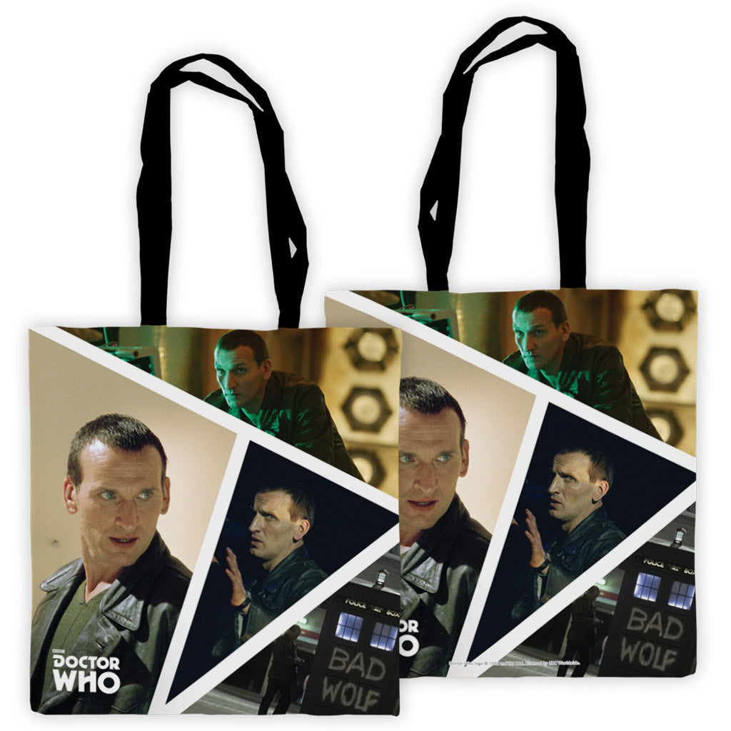 Ninth Doctor Photographic Edge to Edge Tote