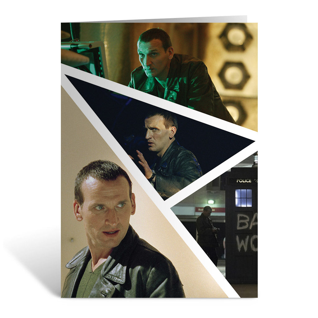 Ninth Doctor Photographic Greeting Card