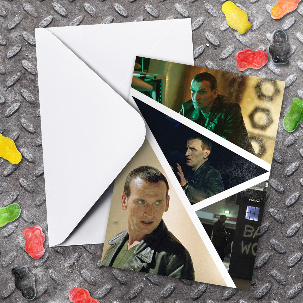 Ninth Doctor Photographic Greeting Card (Lifestyle)