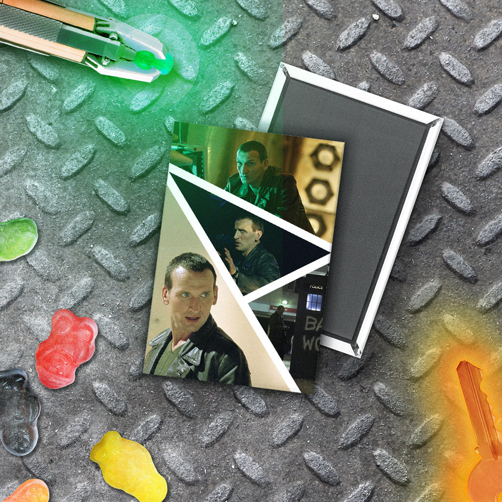 Ninth Doctor Photographic Magnet (Lifestyle)