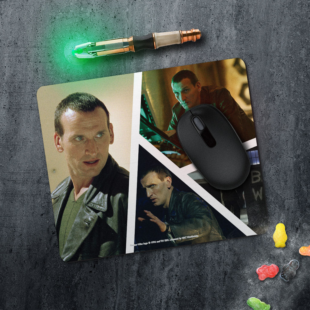 Ninth Doctor Photographic Mousemat (Lifestyle)