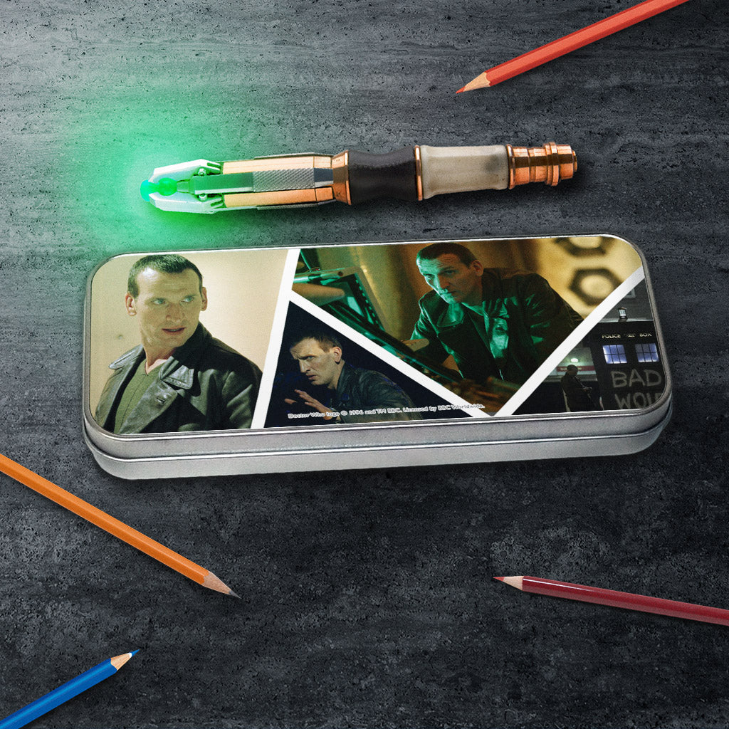 Ninth Doctor Photographic Pencil Tin (Lifestyle)