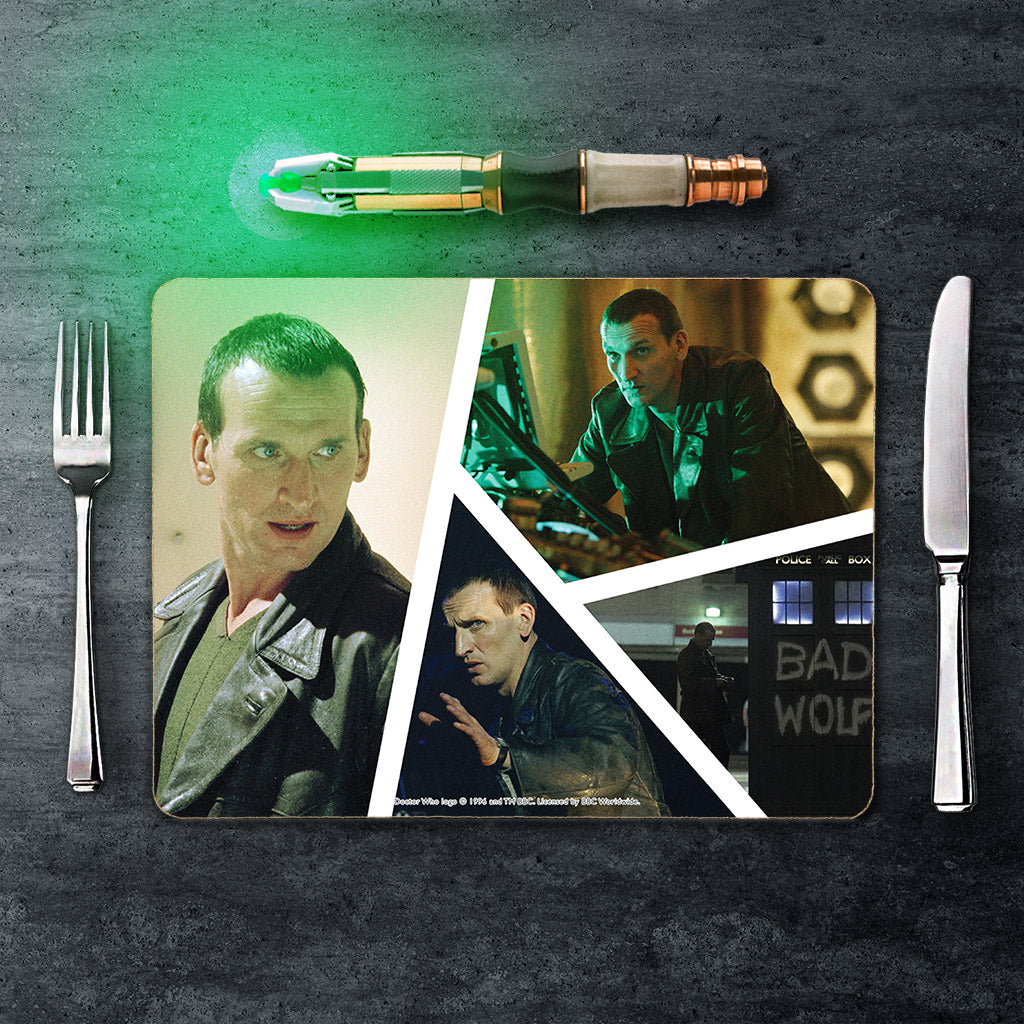 Ninth Doctor Photographic Placemat (Lifestyle)