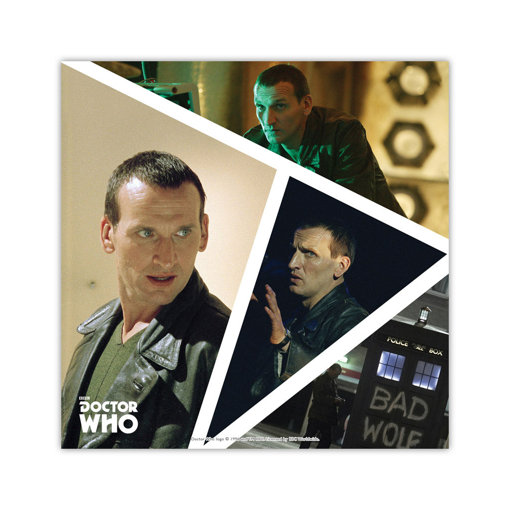 Ninth Doctor Photographic Square Art Print