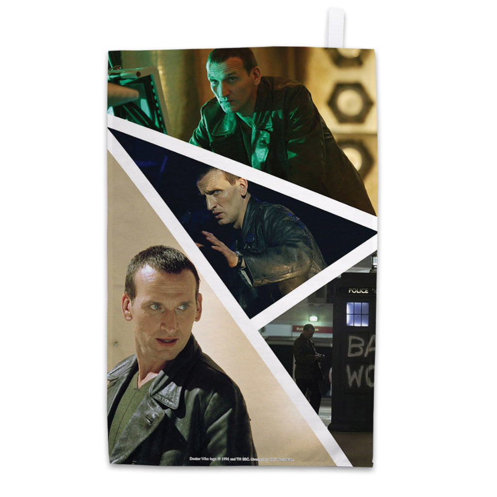 Ninth Doctor Photographic Tea Towel