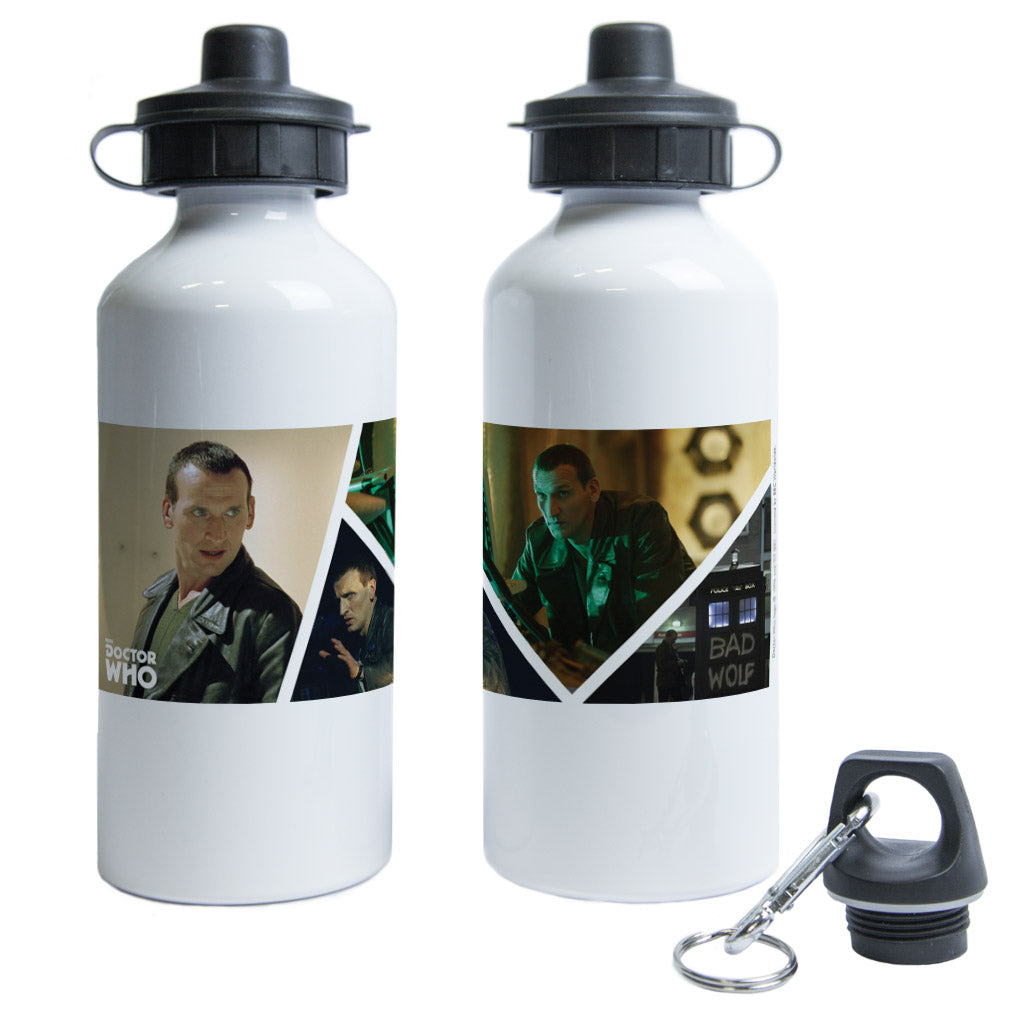Ninth Doctor Photographic Water Bottle