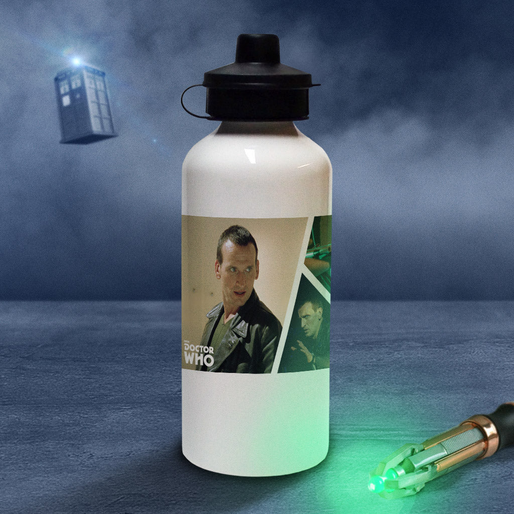 Ninth Doctor Photographic Water Bottle (Lifestyle)