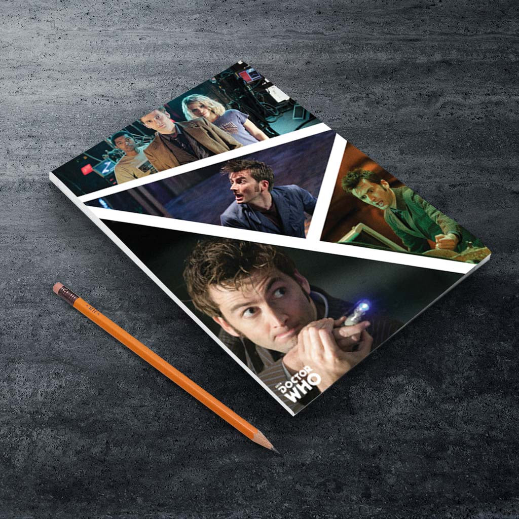 Tenth Doctor Photographic A5 Notepad (Lifestyle)