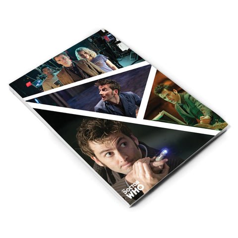 Tenth Doctor Photographic A5 Notepad