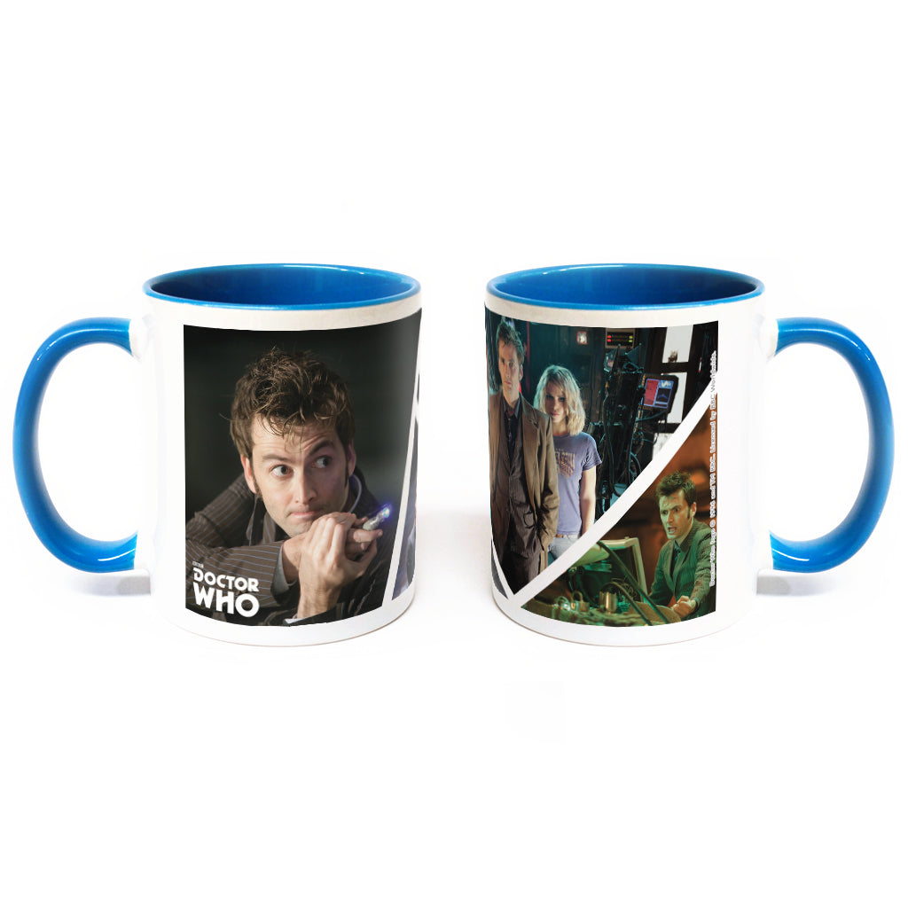 Tenth Doctor Photographic Colour Insert Mug