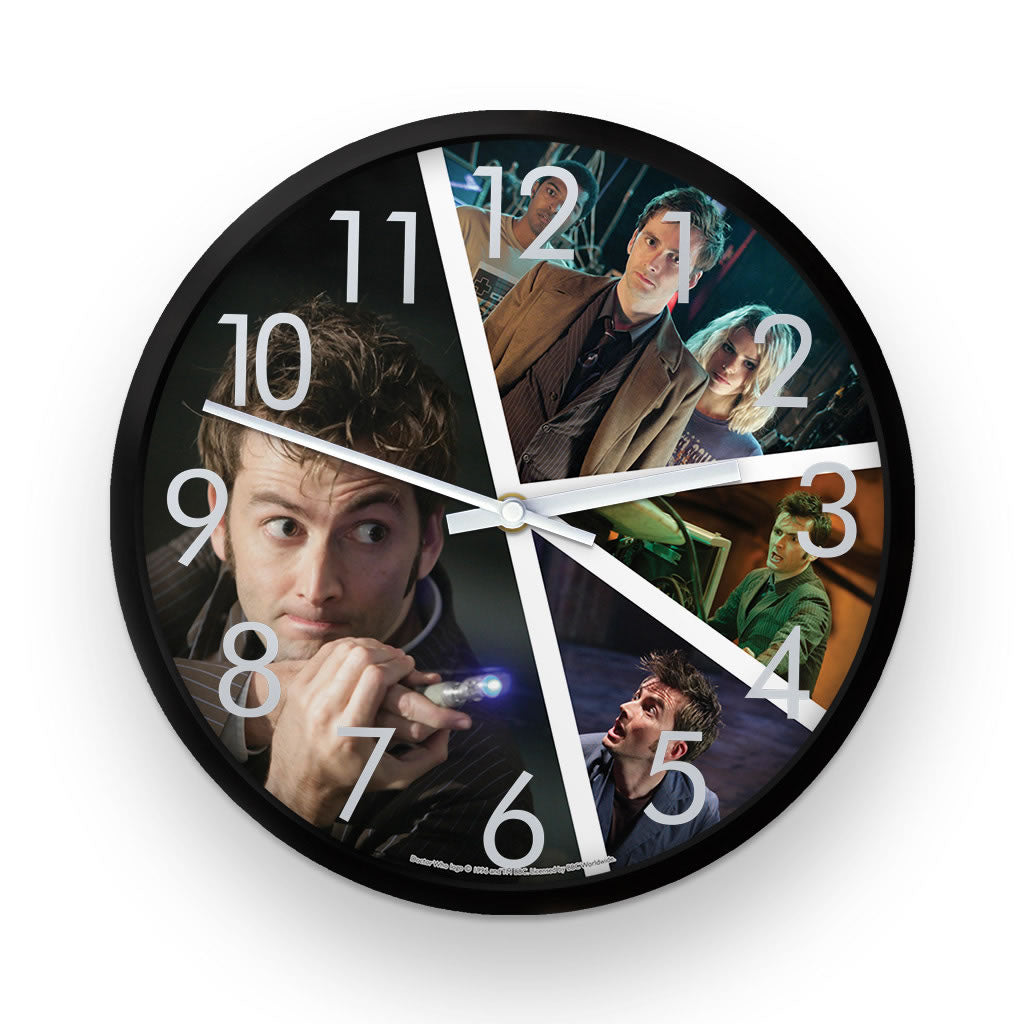 Tenth Doctor Photographic Clock