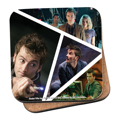 Tenth Doctor Photographic Coaster