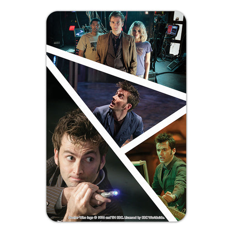 Tenth Doctor Photographic Door Plaque