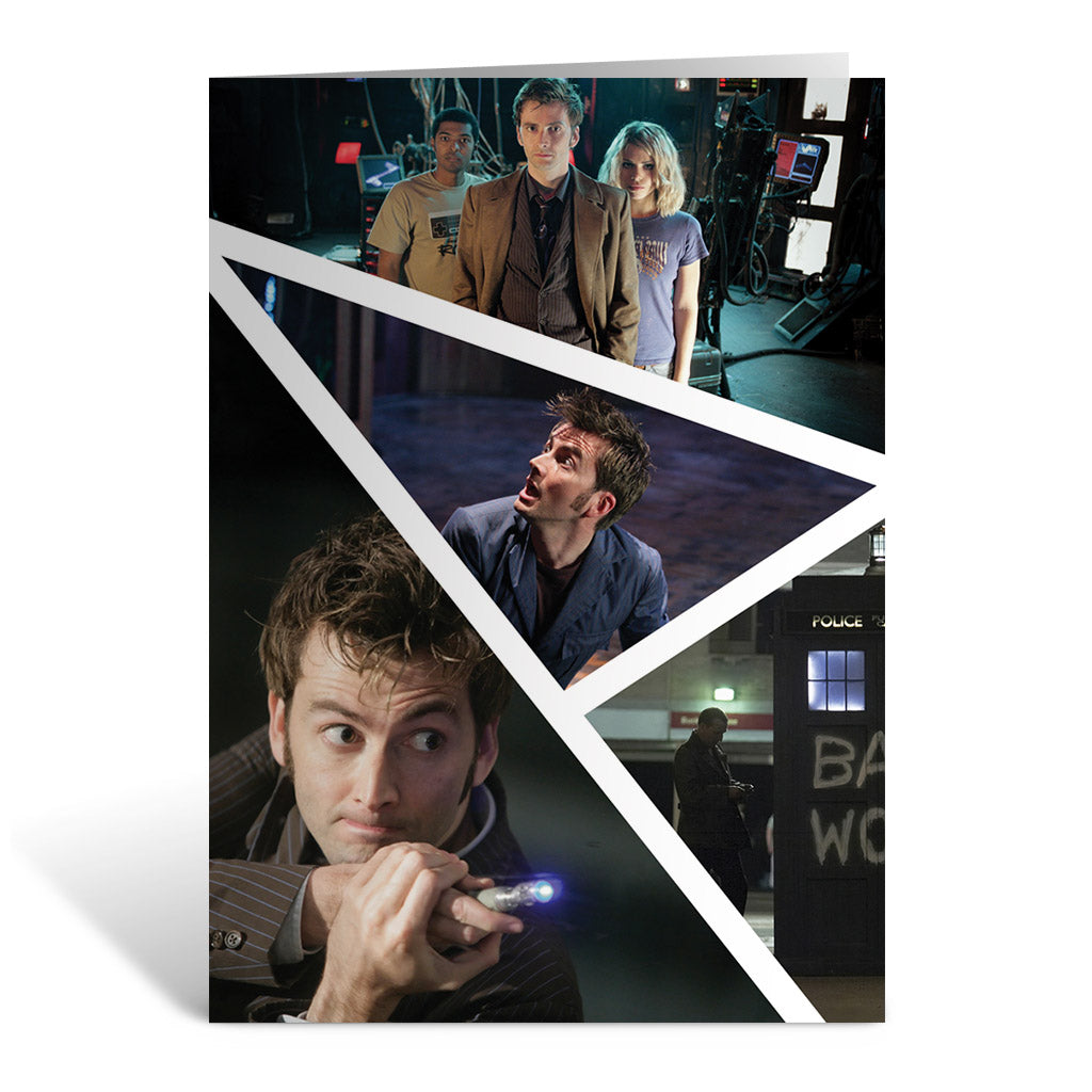 Tenth Doctor Photographic Greeting Card
