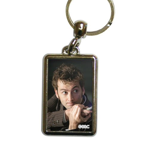 Tenth Doctor Photographic Metal Keyring