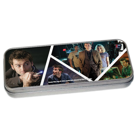 Tenth Doctor Photographic Pencil Tin