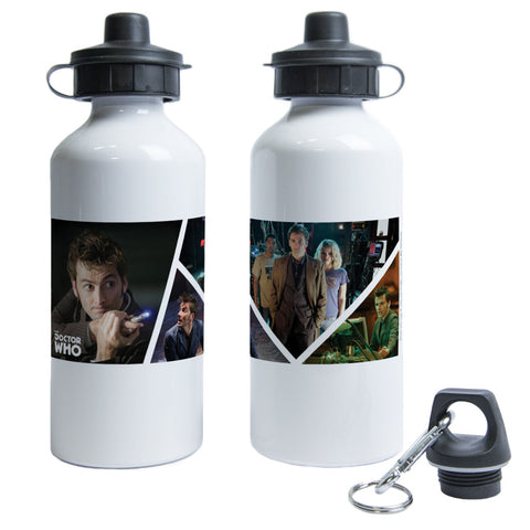 Tenth Doctor Photographic Water Bottle