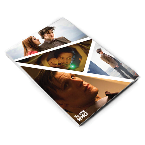 Eleventh Doctor Photographic A5 Notepad