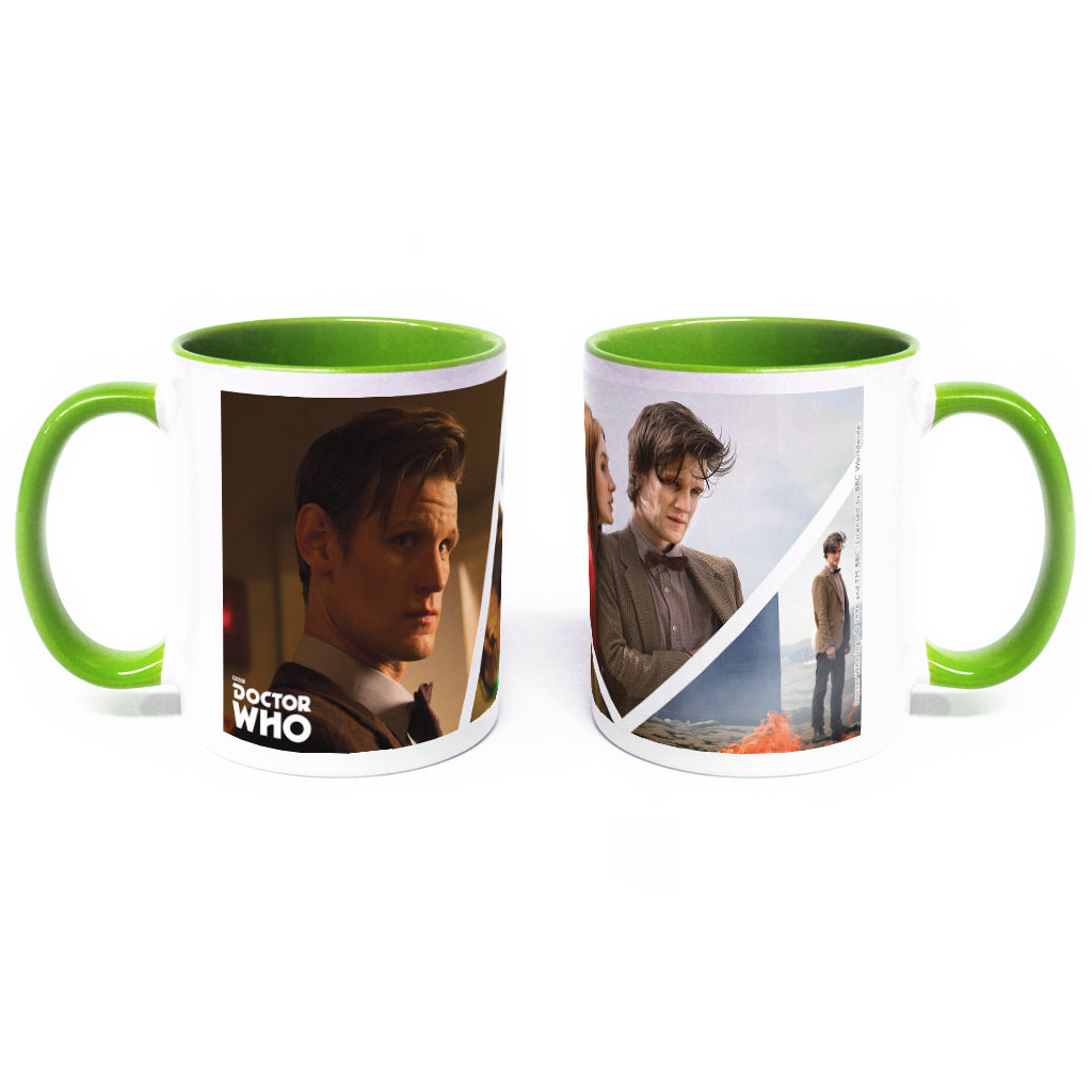 Eleventh Doctor Photographic Colour Insert Mug