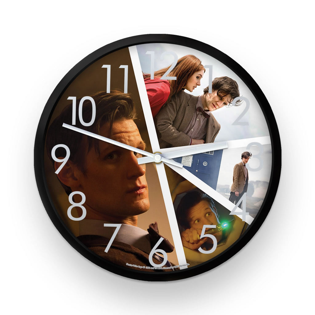 Eleventh Doctor Photographic Clock
