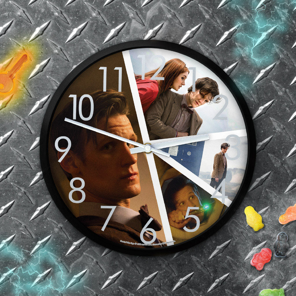 Eleventh Doctor Photographic Clock (Lifestyle)