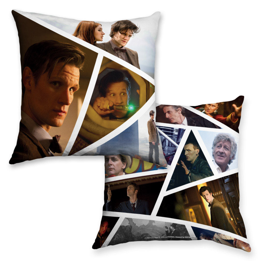 Eleventh Doctor Photographic Cushion