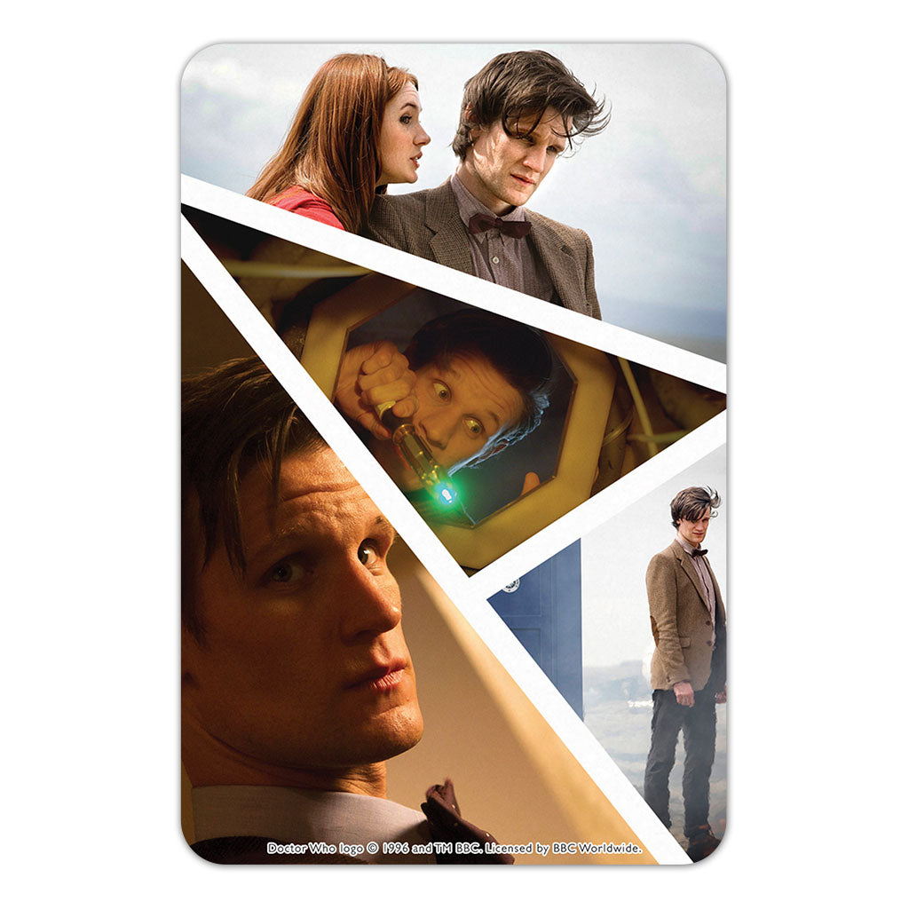 Eleventh Doctor Photographic Door Plaque