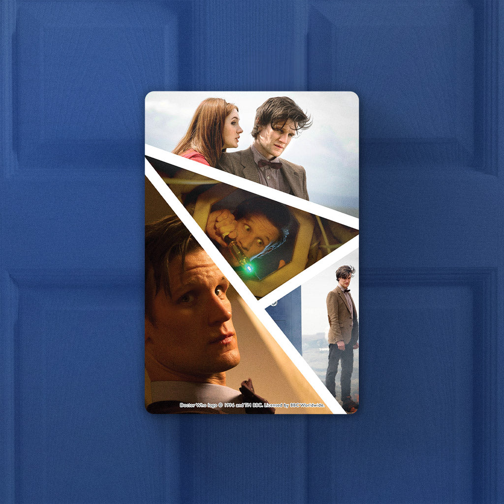 Eleventh Doctor Photographic Door Plaque (Lifestyle)