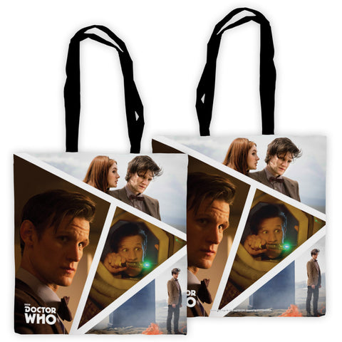 Eleventh Doctor Photographic Edge to Edge Tote