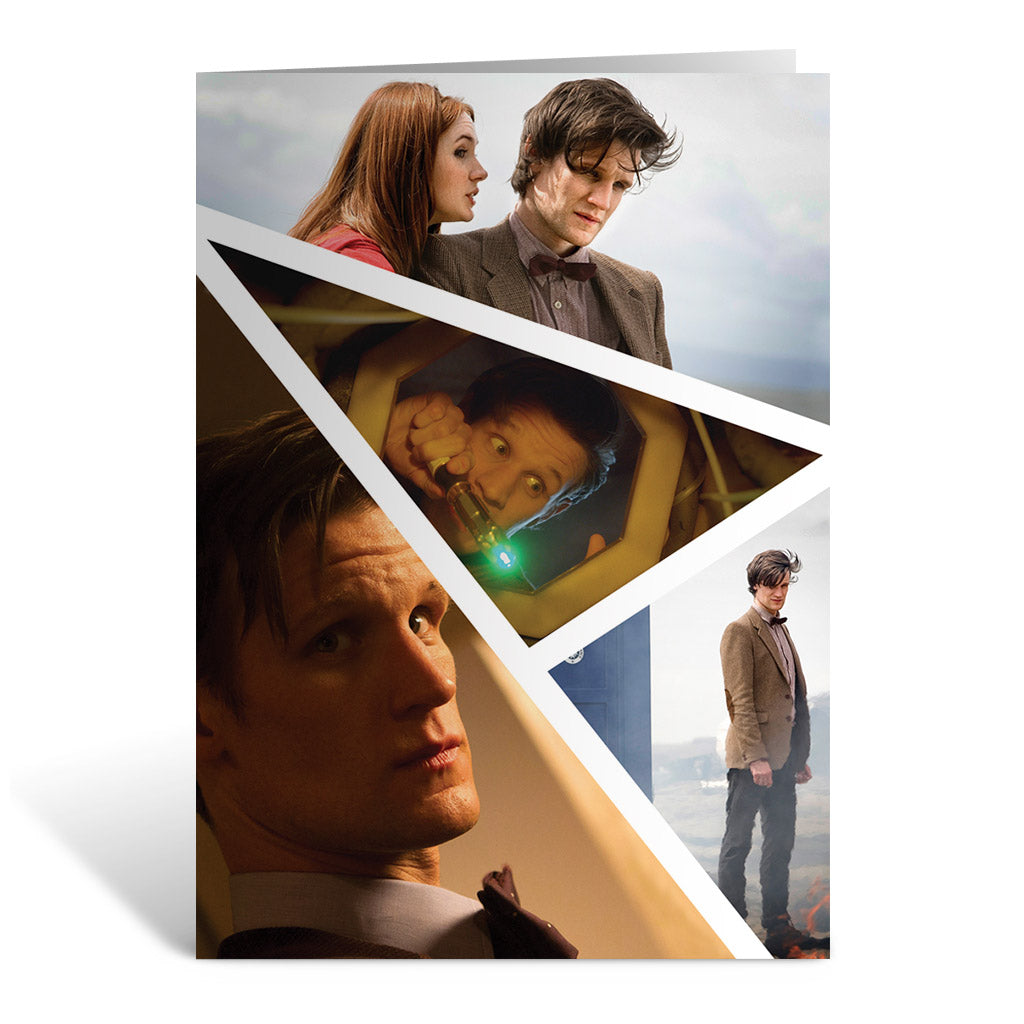 Eleventh Doctor Photographic Greeting Card