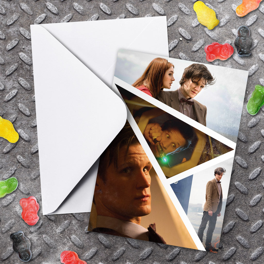Eleventh Doctor Photographic Greeting Card (Lifestyle)