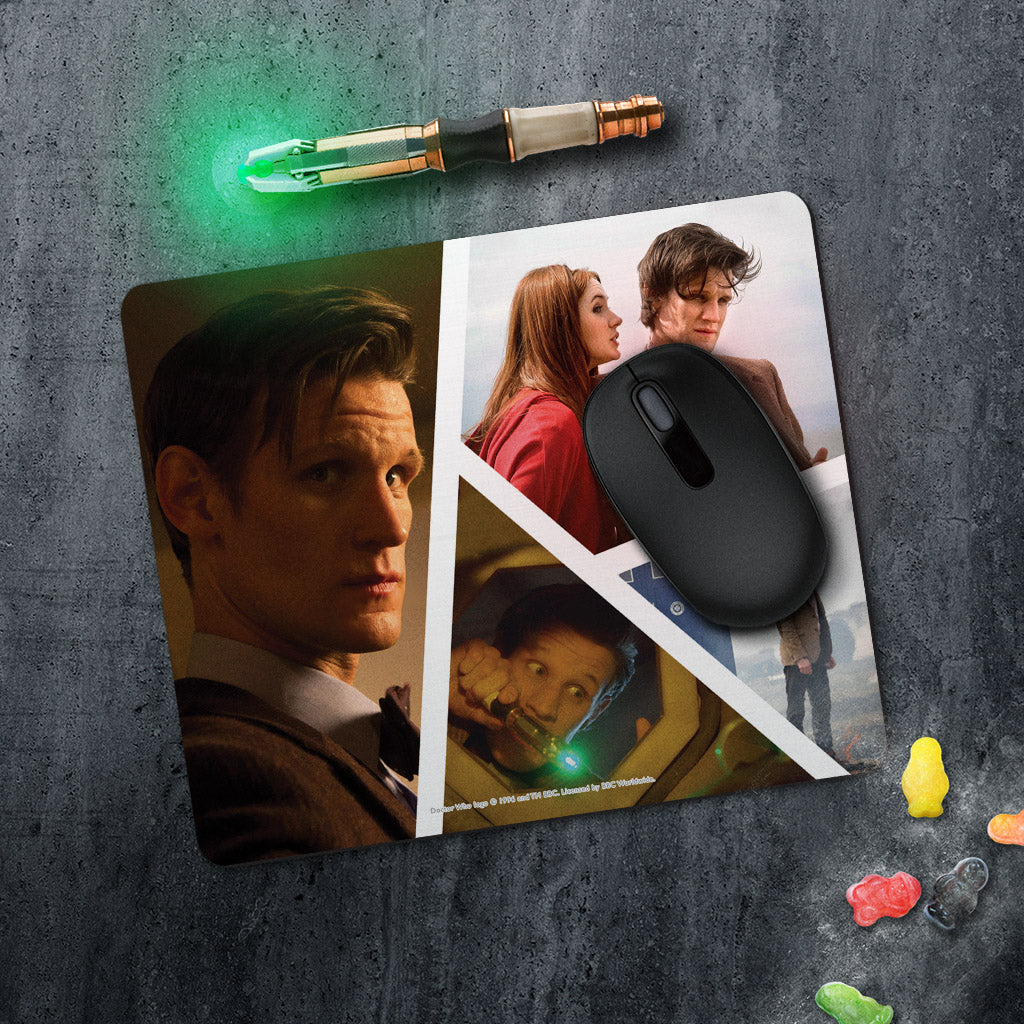 Eleventh Doctor Photographic Mousemat (Lifestyle)